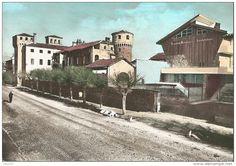 Italien - OZEGNA - CANAVESE - CASTELLO E VILLA GIUSEPPINA - F. GRANDE PRIMISSIME A COLORI - VIAGGIATA 1971 - (rif. D71)