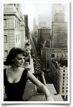 This classic William Claxton photograph of starlet Natalie Wood in Manhattan.