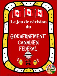 French Teacher, Teaching French, French Class, Teaching Social Studies, Teaching Resources, Teaching Ideas, Teaching Tools, Black And White Game, Ontario Curriculum