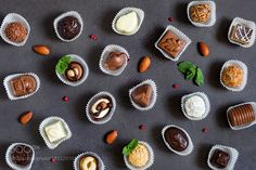 Chocolate candies pattern by Arx0nt