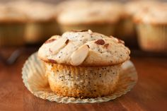 Low Carb Marzipan Muffins