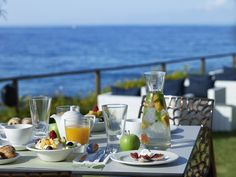 Start your day with a full of at Elia Resort Spa, Vitamins, Restaurant, Table Decorations, Breakfast, Morning Coffee, Restaurants, Vitamin D, Supper Club