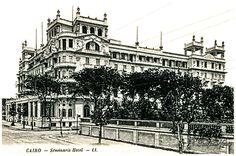 Semiramis Hotel - Cairo in 1909