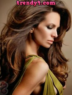 Dark Brown Hair with Caramel Highlights 2014