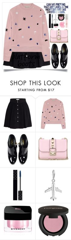 """""""Can We Pretend"""" by itsybitsy62 ❤ liked on Polyvore featuring IRO, Être Cécile, Yves Saint Laurent, Valentino, Gucci, Thomas Sabo, Mariah Carey, Givenchy, Gorgeous Cosmetics and Miss Selfridge"""