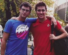Diego Dominguez and Jorge Blanco