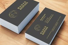 Nuovo Bespoke Group logo and business card design.