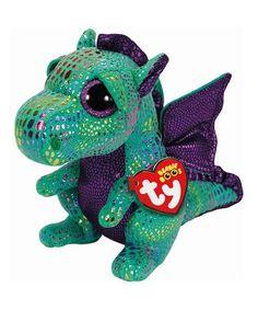 c79474163a0 Cinder the Green Dragon Beanie Boo  zulilyfinds