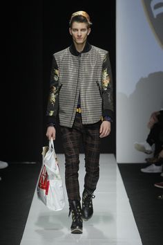 Look 36 at Vivienne Westwood #AW1516 MAN