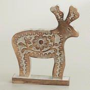 Wood Reindeer - World Market