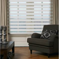 Zebra blinds are a great way to add visual interest to windows and keep prying eyes at bay