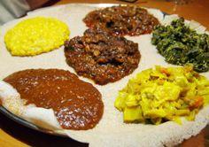 Beyanitu Veggie Combo - Lalibela - South Orange - New Jersey - Dianne Wenz - Devil Gourmet - www.DevilGourmet.com