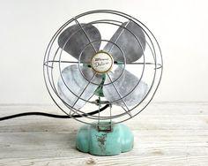 vintage ventilator van bjm uit italië door rainbowsandbubbles
