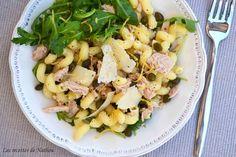Recette de Salade de pâtes au thon et au citron : la recette facile