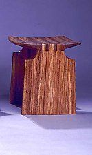 Renwick Stool by David N. Ebner (Wood Bench)