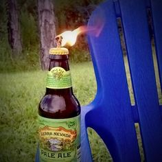 How to: Make a Beer Bottle Tiki Torch. Its a cool idea for the yard, just swap out the beer bottle for rootbeer or something?