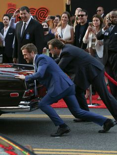 Russell Crowe Photos - Actors Russell Crowe and Ryan Gosling are seen attending the premiere of 'The Nice Guys' at TCL Chinese Theatre. - Premiere of Warner Bros. Pictures' 'The Nice Guys'