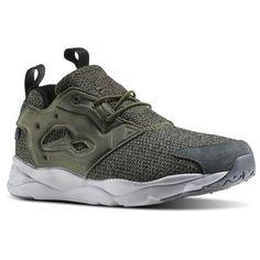new style e42a0 eee98 Reebok Furylite GW Men s Retro Running Shoes in Canopy Green Gw, Reebok  Furylite, Net