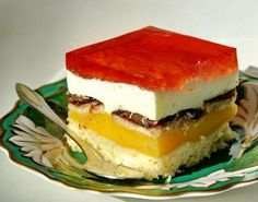 Druh receptu: Sladkosti - Page 81 of 326 - Mňamky-Recepty. Czech Recipes, Russian Recipes, Ethnic Recipes, Sweets Cake, Polish Recipes, Graham Crackers, Amazing Cakes, Cheesecake, Food And Drink