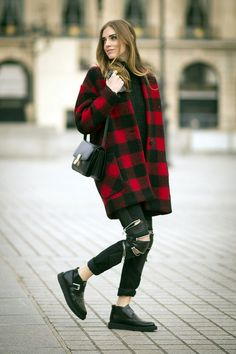 40 Ideas of Winter Street Style Fashion 2015