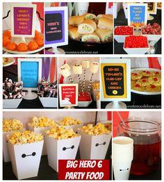 Big Hero 6 Birthday Party Themed Food- eventstocelebrate.net #BigHero6Release #ad