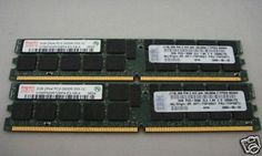 39M5812 - IBM 4GB Kit (2 x 2GB) PC2-3200 CL3 ECC DDR2
