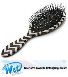 Luxor Pro The Wet Brush Hiptser detangling shower hair brush, (chevron)