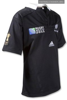 New Zealand All Blacks adidas Rugby World Cup 2011 Winners Jersey / Kit
