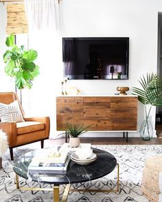 It's been a busy week so far but there's still lots to be done. Including that guest bathroom remodel that's been on my to… Tan Leather Armchair, Leather Recliner, Guest Bathroom Remodel, Woven Wood Shades, Apartment Living, Living Rooms, Condo Living, Family Rooms, Apartment Ideas