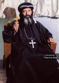 Anthony The Great, Pope Shenouda, Church Icon, Orthodox Christianity, Bible Art, Thank God, Virgin Mary, Old Photos, Saints