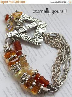 ON SALE bracelet madeira citrine bracelet citrine by soulfuledges