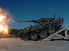 Stryker combat vehicles (via theBRIGADE)
