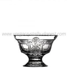 Imperial Clear Footed Bowl 6' 228€ Whiskey Decanter, Luxury Candles, Budapest, Bowls, Things To Come, Collections, Traditional, Crystals, Makeup
