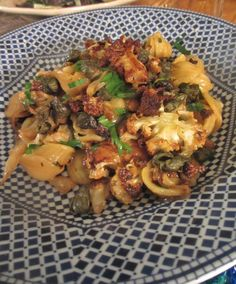 Recipe: Roasted Cauliflower & Cabbage Pasta with Fried Capers and Cheddar — The Cheesemonger
