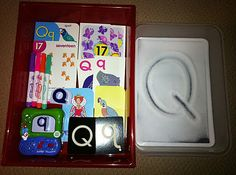 Letter Q Workbox Ideas