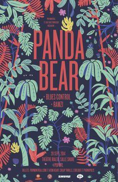 panda bear poster - Buscar con Google