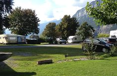 Camping Murg, Murg, Walensee Camping Spots, Switzerland, Golf Courses, Vw Bus, Campsite, Tourism