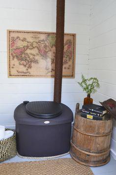 Home Appliances, Cabin, Cottage, Summer House, Toilet, Outdoor Toilet, Yurt, Cottage Living, Beautiful Farm