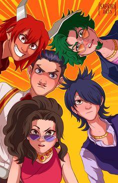 Bakugou rescue squad by on DeviantArt My Hero Academia Memes, Buko No Hero Academia, Hero Academia Characters, My Hero Academia Manga, Me Me Me Anime, Anime Guys, 1366x768 Wallpaper, Hero Wallpaper, Boku No Hero Academy