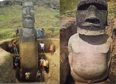 Rapa Nui - The statues of Easter Island have bodies!