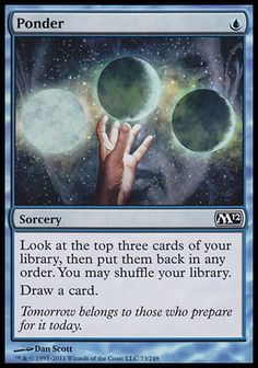 Ponder (Sorcery)