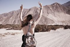 In the desert to Coachella