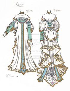 Royal Gown by ~MaidenOverTheStar on deviantART