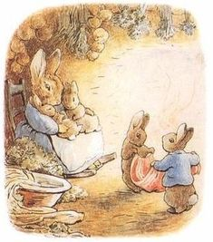 Beatrix Potter ~ Arthur and Artist of the Peter Rabbit Series ~ 1866 - 1943 Lapin Art, Beatrix Potter Illustrations, Susan Wheeler, Beatrice Potter, Peter Rabbit And Friends, Benjamin Bunny, Bunny Art, Bunny Book, Poster Prints