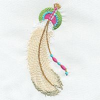 Feathers from A Design By Lyn