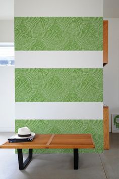For powder room, accent wall. Take Shape Furs ~ Pattern Wall Tiles