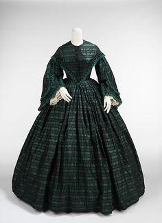 Walking dress, robe de jour, 1865