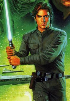 Jacen Solo (Star Wars: Expanded Universe) - aka, my first fictional crush XD figures it'd be Han's son...