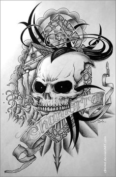 Image detail for -skull tattoos