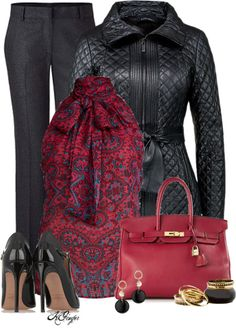 Polyvore Outfit Combinations of How To Wear a Trench Coat